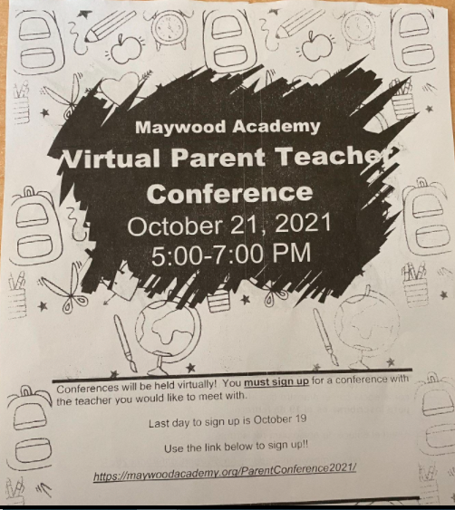Flyer showing students get to be reminded to make an appointment.